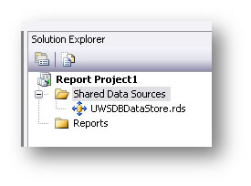 Shared Data Sources screen shot